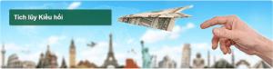 Tích lũy kiều hối Ngân hàng Vietcombank