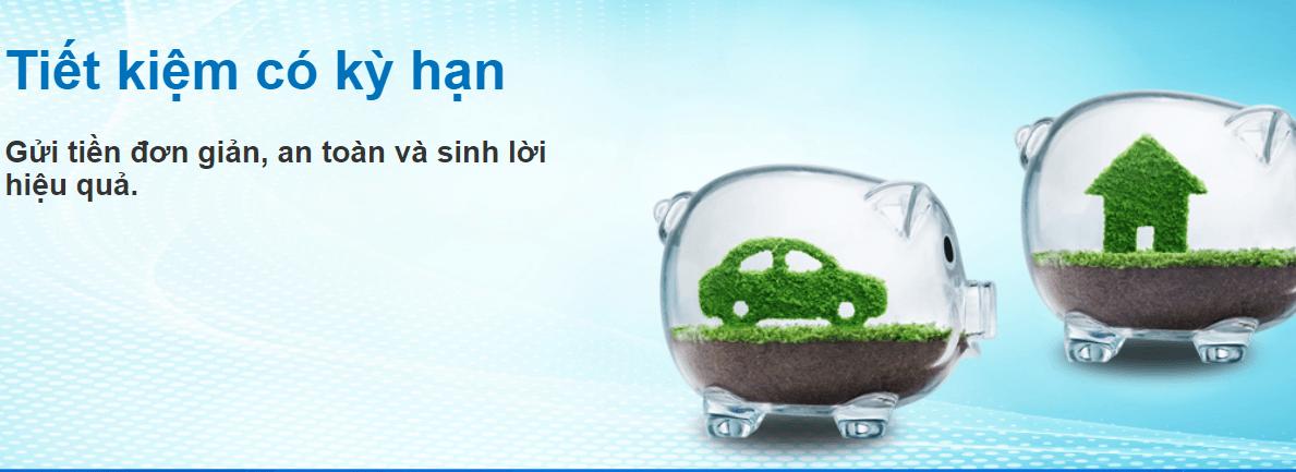 Tiết kiệm có kỳ hạn Ngân hàng Sacombank