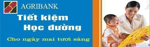 Tiết kiệm Học Đường Ngân hàng Agribank
