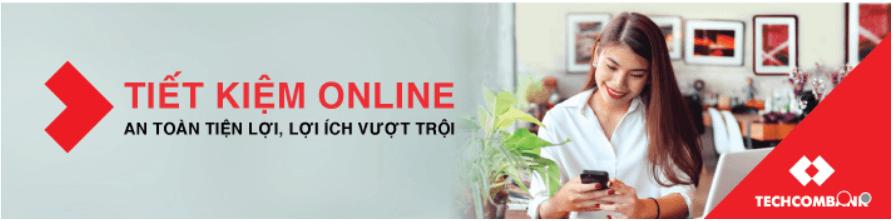 Tiền Gửi Online Thường Ngân hàng Techcombank