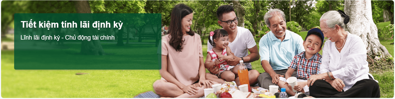 Tiết kiệm trả lãi định kỳ Ngân hàng Vietcombank