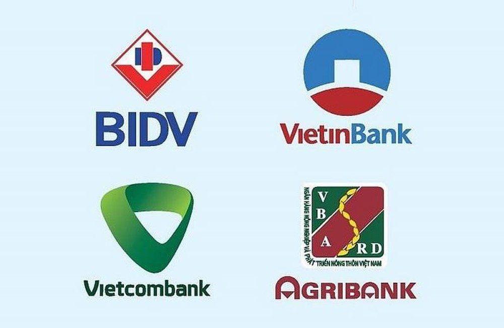lãi suất bốn ngân hàng