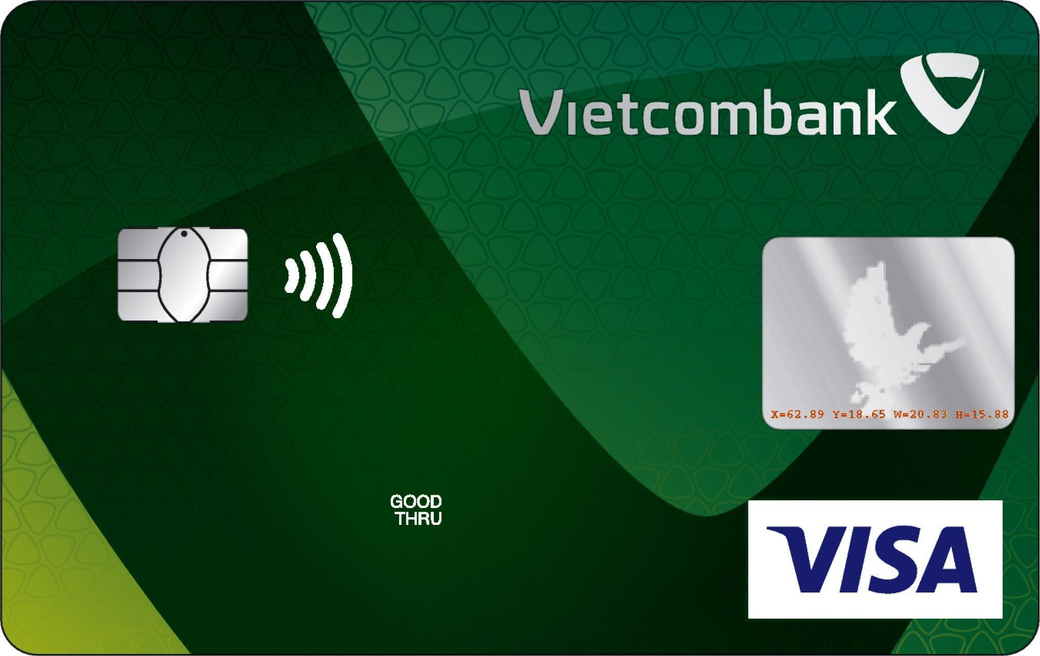 Thẻ tín dụng Vietcombank Visa Chuẩn
